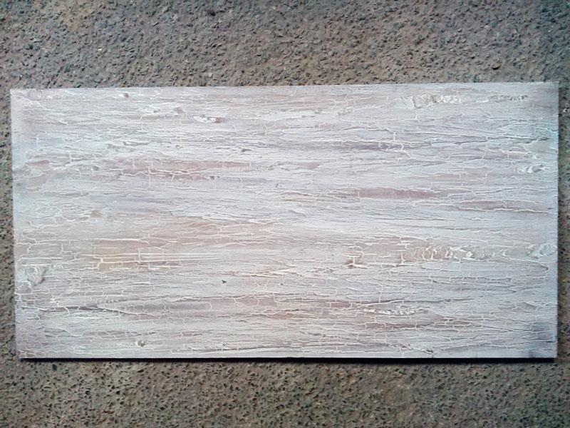 effet de matière bois craquelé et flotté