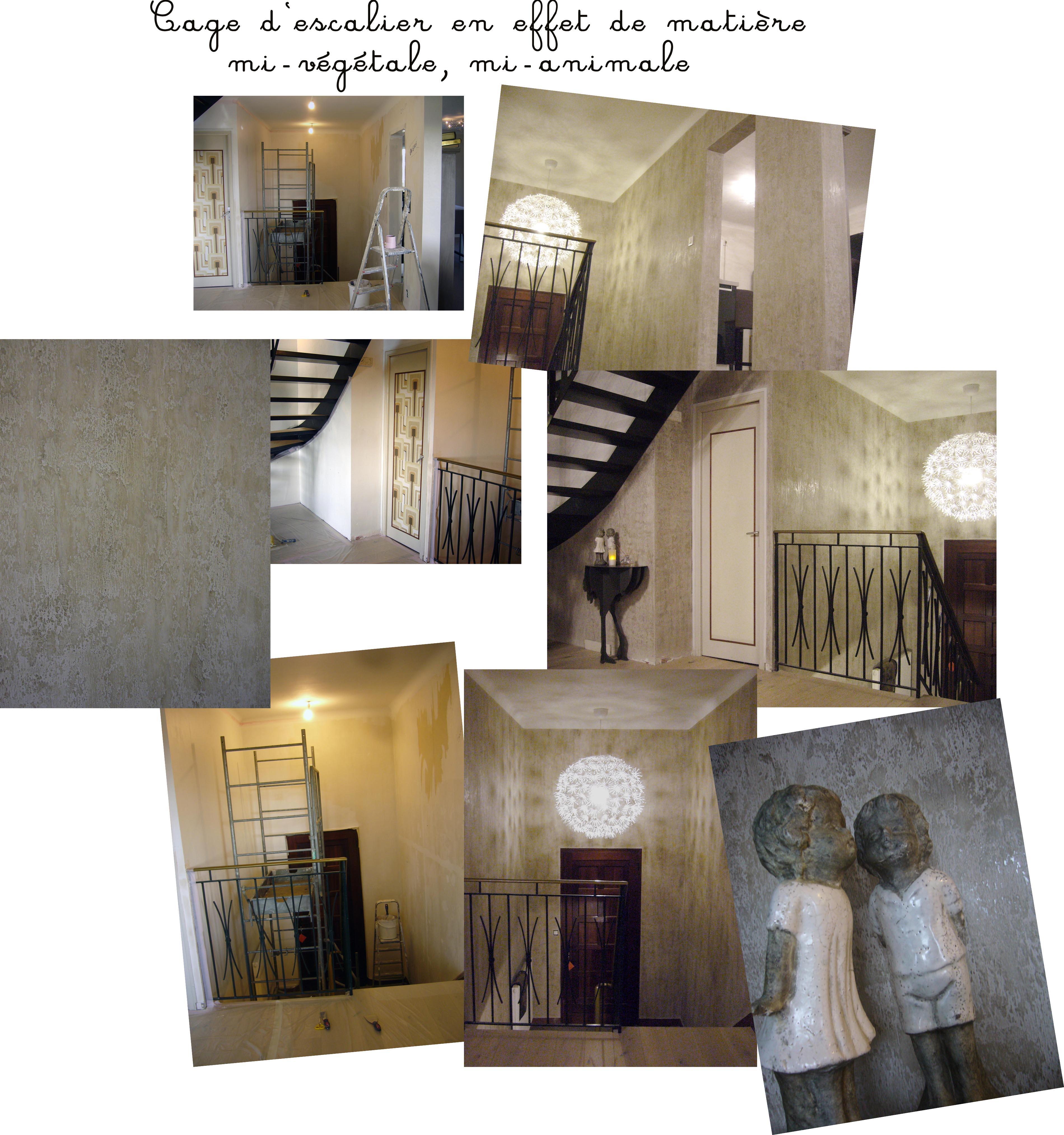 planche photo cage d'escalier Nantes